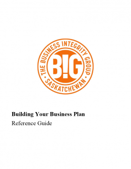 Building Your Business Plan - Reference Guide