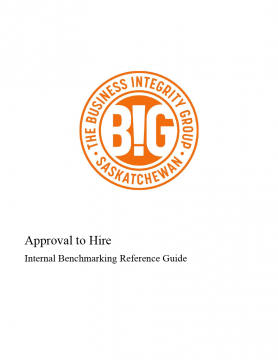 Guide - Approval to Hire - Internal Benchmarking